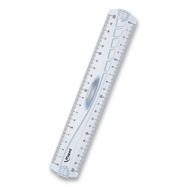 Pravítko Maped Geometric oboustranné 20 cm
