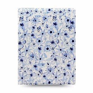 Zápisník A5 Filofax Notebook Indigo Floral