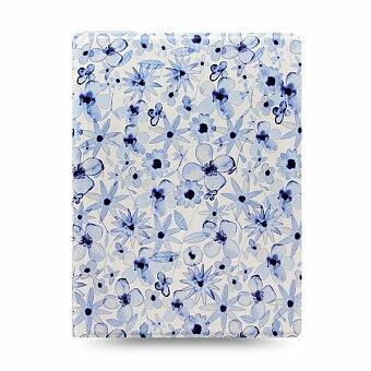 Obrázek produktu Zápisník A5 Filofax Notebook Indigo Floral
