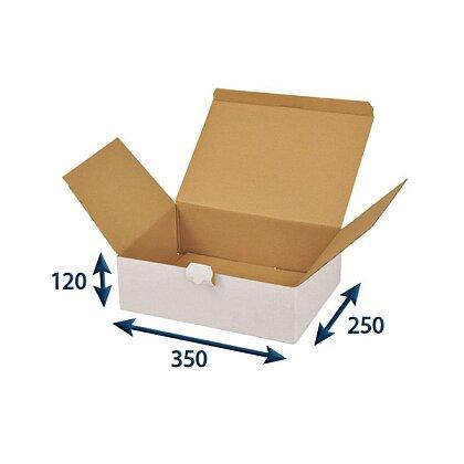 Obrázek produktu Poštovní krabice bílá - 350 × 250 × 120 mm
