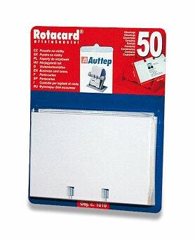 Obrázek produktu Náhradní fólie do rotačního vizitkáře Auttep Rotacard - 50 kartiček
