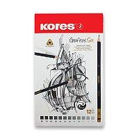 Grafitová tužka Kores Grafitos 12