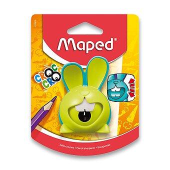 Obrázek produktu Ořezávátko Maped Croc Croc Innovation - s odpadní nádobou - 1 otvor, blistr, mix barev
