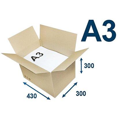 Obrázek produktu Klopové krabice - A3, 430 × 300 × 300 mm