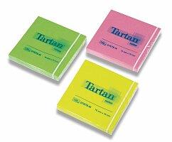 Samolepicí bločky Tartan Neon mix barev
