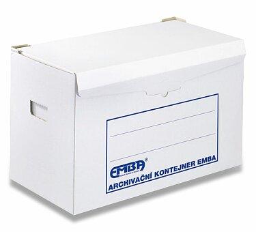 Obrázek produktu Archivační kontejner Emba Strong - 500 x 330 x 300 mm, na pořadače