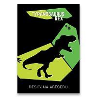 Desky na abecedu T-Rex