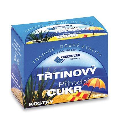 Obrázek produktu Třtinový cukr - kostkový, 250 g