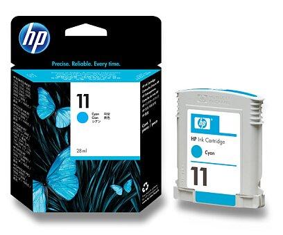 Obrázek produktu Cartridge HP C4836A č. 11 pro inkoustové tiskárny - cyan (modrý)