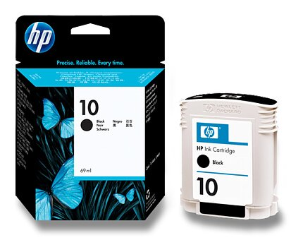 Obrázek produktu Cartridge HP C4844A č. 10 pro inkoustové tiskárny - black (černý)