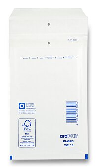 Obrázek produktu Bublinková obálka - B12, 115 x 215 mm, 10 ks