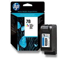 Cartridge HP C6578DE - color č. 78 (barevná) pro inkoustové tiskárny