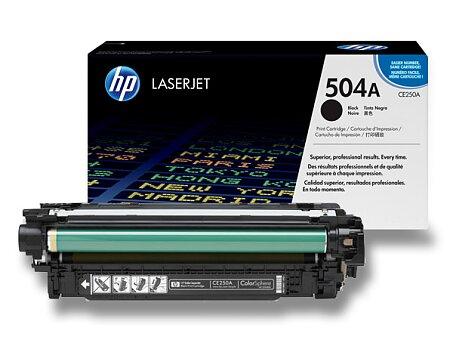 Obrázek produktu Toner HP CE250A č. 504A pro laserové barevné tiskárny - black (černý)