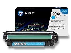 Toner HP CE251A č. 504A pro laserové barevné tiskárny