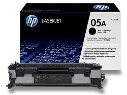 Toner HP CE505A - black (černý) č. 05A pro laserové tiskárny