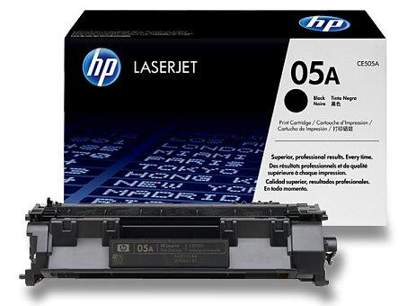 Obrázek produktu Toner HP CE505A - black (černý) č. 05A pro laserové tiskárny