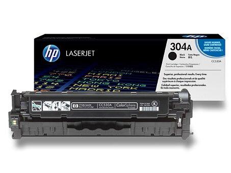 Obrázek produktu Toner HP CC530A č. 304A pro laserové barevné tiskárny - black (černý)