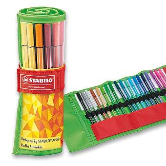 Obrázek produktu Fix Stabilo Pen 68 Rollerset - sada, 25 ks
