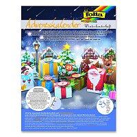Adventní kalendář zimní krajina