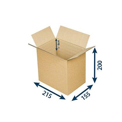 Obrázek produktu Výškově nastavitelné krabice - A5, 215 × 155 × max. 200 mm