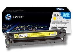 Toner HP CB542A č. 125A pro laserové tiskárny
