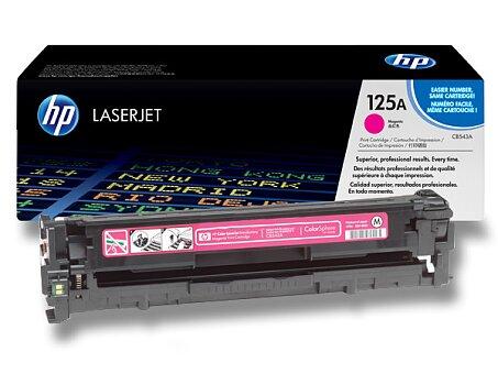 Obrázek produktu Toner HP CB543A č. 125A pro laserové tiskárny - magenta (červený)