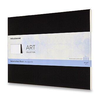 Obrázek produktu Skicář Moleskine Watercolour Block - 23 x 31 cm, černý