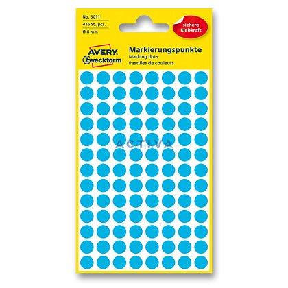 Obrázek produktu Avery Zweckform - kulaté etikety - průměr 8 mm, 416 etiket, modré