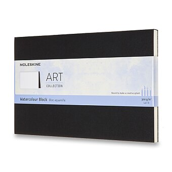 Obrázek produktu Skicář Moleskine Watercolour Block - L, černý