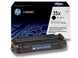 Toner HP C7115X - black (černý) č. 15X pro laserové tiskárny