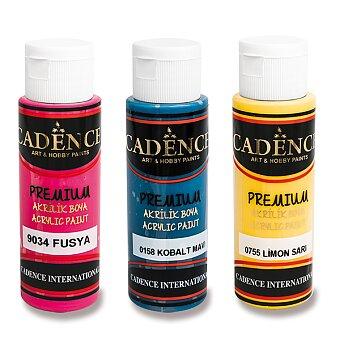 Obrázek produktu Akrylové barvy Cadence Premium - 70 ml, výběr barev