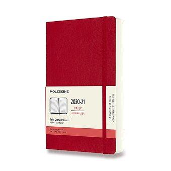 Obrázek produktu 18měsíční diář Moleskine 2020-21 - měkké desky - L, denní, výběr barev