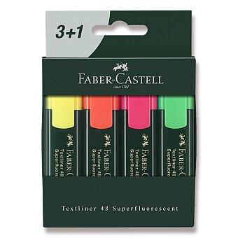 Obrázek produktu Zvýrazňovač Faber-Castell Textliner 48 - 4 kusy