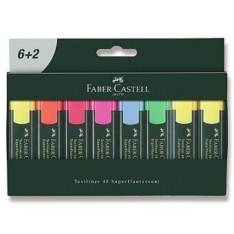 Obrázek produktu Zvýrazňovač Faber-Castell Textliner 48 - 8 kusů