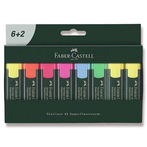Zvýrazňovač Faber-Castell Textliner 48 8 kusů