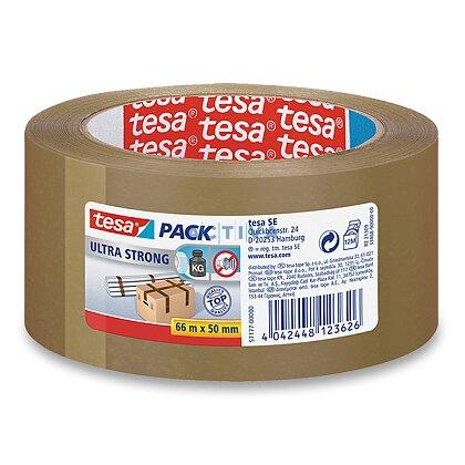 Obrázek produktu Tesa Ultra Strong - lepicí páska - 50 mm x 66 m, hnědá