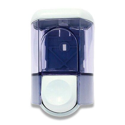 Obrázek produktu Uzamykatelný dávkovač na tekuté mýdlo - střední, modrý