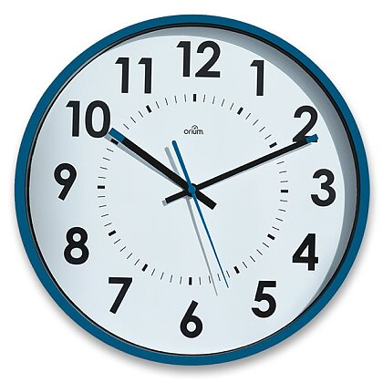 Product image CEP Orium 11244 - wall clock - blue