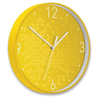 Product image Leitz WOW - wall clock - yellow