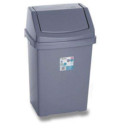 Product image Wham - plastic waste basket - 8 l 23 × 19 × 37 cm