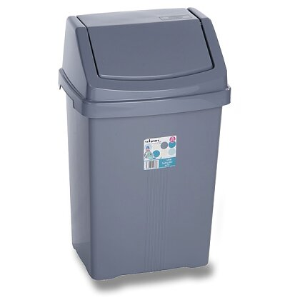 Product image Wham - plastic waste basket - 15 l, 29 × 23 × 46.5 cm