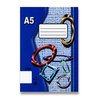 Obrázek produktu Školní sešit EKO 540 - A5, čistý, 40 listů