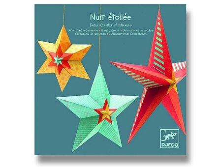 Obrázek produktu Závěsná dekorace Djeco - Hvězdy