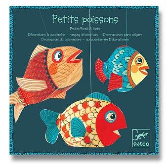 Obrázek produktu Závěsná dekorace Djeco - Ryby