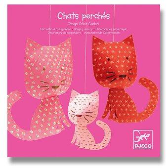 Obrázek produktu Závěsná dekorace Djeco - Růžové kočky