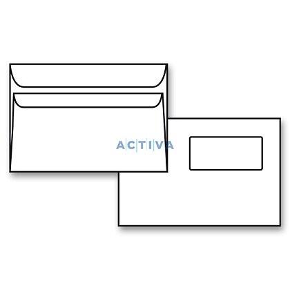 Obrázek produktu Krpa - obálka - C5, samolepicí s okénkem nahoře, 1000 ks