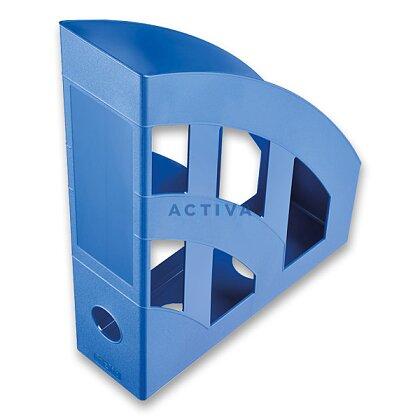 Obrázek produktu Helit Economy - plastový stojan na katalogy - modrý