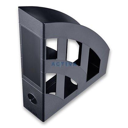 Obrázek produktu Helit Economy - plastový stojan na katalogy - černý