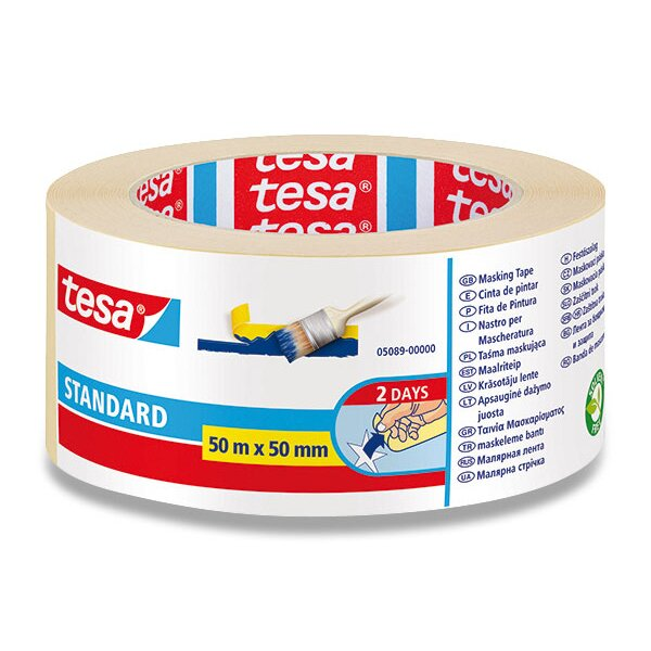 Samolepicí páska Tesa Maskovací páska 50 mm × 50 m