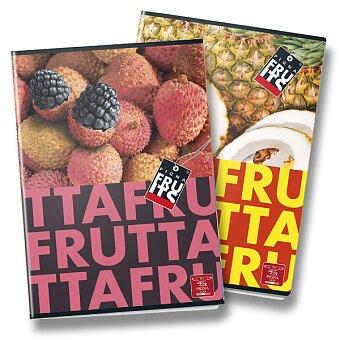 Obrázek produktu Školní sešit Pigna Fruits - A4, linkovaný, 40 listů, mix motivů